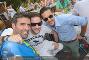 Beachvolleyball SA - Klagenfurt - Sa 01.08.2015 - Paul LICHTER, Sebastian FELBER, Andreas TISCHLER103