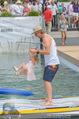 Beachvolleyball SA - Klagenfurt - Sa 01.08.2015 - Benjamin KARL mit Tochter Benina131