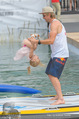 Beachvolleyball SA - Klagenfurt - Sa 01.08.2015 - Benjamin KARL mit Tochter Benina132