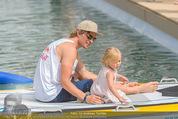 Beachvolleyball SA - Klagenfurt - Sa 01.08.2015 - Benjamin KARL mit Tochter Benina135
