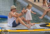 Beachvolleyball SA - Klagenfurt - Sa 01.08.2015 - Benjamin KARL mit Tochter Benina136