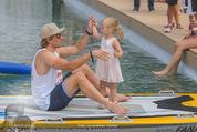 Beachvolleyball SA - Klagenfurt - Sa 01.08.2015 - Benjamin KARL mit Tochter Benina137