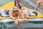 Beachvolleyball SA - Klagenfurt - Sa 01.08.2015 - Benjamin KARL mit Tochter Benina141