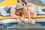 Beachvolleyball SA - Klagenfurt - Sa 01.08.2015 - Benjamin KARL mit Tochter Benina142