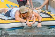 Beachvolleyball SA - Klagenfurt - Sa 01.08.2015 - Benjamin KARL mit Tochter Benina143