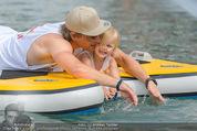 Beachvolleyball SA - Klagenfurt - Sa 01.08.2015 - Benjamin KARL mit Tochter Benina144