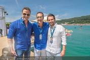 Beachvolleyball SA - Klagenfurt - Sa 01.08.2015 - HC Heinz Chrisitan STRACHE, Johann GUDENUS80