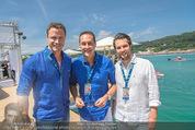 Beachvolleyball SA - Klagenfurt - Sa 01.08.2015 - HC Heinz Chrisitan STRACHE, Johann GUDENUS81