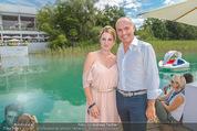 Beachvolleyball SA - Klagenfurt - Sa 01.08.2015 - Gerald KLUG mit Sandra (HRNJAK)93