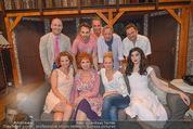 Premiere ´Der nackte Wahnsinn´ - Stadttheater Berndorf - Do 06.08.2015 - Gruppenfoto Ensemble ua. mit Kristina SPRENGER23