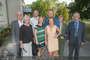Premiere ´Der nackte Wahnsinn´ - Stadttheater Berndorf - Do 06.08.2015 - Familienfoto Kristina SPRENGER mit Eltern, Schwester, Schwager..28