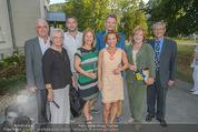 Premiere ´Der nackte Wahnsinn´ - Stadttheater Berndorf - Do 06.08.2015 - Familienfoto Kristina SPRENGER mit Eltern, Schwester, Schwager..29