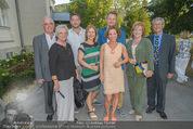 Premiere ´Der nackte Wahnsinn´ - Stadttheater Berndorf - Do 06.08.2015 - Familienfoto Kristina SPRENGER mit Eltern, Schwester, Schwager..30