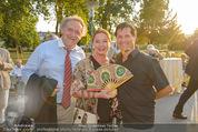 Premiere ´Der nackte Wahnsinn´ - Stadttheater Berndorf - Do 06.08.2015 - Franz SUHRADA, Gabi Gabriele BENESCH, Erich FURRER58
