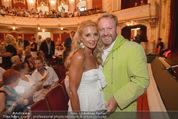 Premiere ´Der nackte Wahnsinn´ - Stadttheater Berndorf - Do 06.08.2015 - Marcus STRAHL mit Ehefrau Leila81