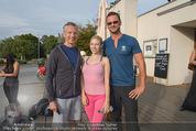 Promi Fitness mit Wendy Night - Donaupark - Di 18.08.2015 - Bert COPAR, Christina NUELLE, Thomas GLOCK13