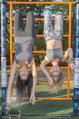 Promi Fitness mit Wendy Night - Donaupark - Di 18.08.2015 - Carina SCHWARZ, Rebecca RAPP25