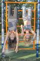 Promi Fitness mit Wendy Night - Donaupark - Di 18.08.2015 - Carina SCHWARZ, Rebecca RAPP26