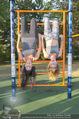 Promi Fitness mit Wendy Night - Donaupark - Di 18.08.2015 - Carina SCHWARZ, Rebecca RAPP27