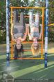 Promi Fitness mit Wendy Night - Donaupark - Di 18.08.2015 - Carina SCHWARZ, Rebecca RAPP28