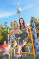Promi Fitness mit Wendy Night - Donaupark - Di 18.08.2015 - Carina SCHWARZ, Rebecca RAPP31