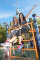 Promi Fitness mit Wendy Night - Donaupark - Di 18.08.2015 - Carina SCHWARZ, Rebecca RAPP32