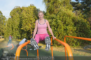 Promi Fitness mit Wendy Night - Donaupark - Di 18.08.2015 - Christina NOELLE48