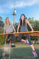 Promi Fitness mit Wendy Night - Donaupark - Di 18.08.2015 - Yvonne RUEFF, Carina SCHWARZ52