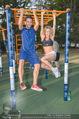 Promi Fitness mit Wendy Night - Donaupark - Di 18.08.2015 - Ferry PTACEK, Wendy NIGHT (Michaela WOLF)53