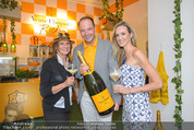 Veuve Clicquot Rich Präsentation - PopUp Store - Mi 19.08.2015 - Carla BAUMER, Gabriela BENZ, Anton BIRNBAUM31