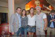 Kinopremiere Hitman - Lugner KinoCity - Mi 26.08.2015 - Kathi STUMPF mit Freund Alex BEZA, Gabi STUMPF mit Freund Rudi12