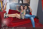 Kinopremiere Hitman - Lugner KinoCity - Mi 26.08.2015 - Christina LUGNER, Tony VEGAS3