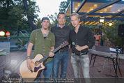 Oliver Feicht Sommerfest - Kolariks Luftburg - Do 27.08.2015 - Oliver FEICHT mit seiner neuen Austropop Band VOXPOPOLI12