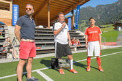 Samsung Charity Soccer Cup - Alpbach, Tirol - Di 01.09.2015 - Ronny LEBER, Stuart KANG, Martin WALLNER115