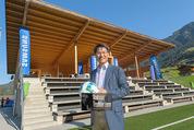 Samsung Charity Soccer Cup - Alpbach, Tirol - Di 01.09.2015 - Stuart KANG25