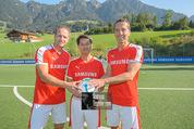 Samsung Charity Soccer Cup - Alpbach, Tirol - Di 01.09.2015 - Roland KIRCHLER, Stuart KANG, Christian KERN64