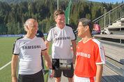 Samsung Charity Soccer Cup - Alpbach, Tirol - Di 01.09.2015 - Michael STIX, Stuart KANG, Rudi KOBZA76