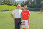 Samsung Charity Soccer Cup - Alpbach, Tirol - Di 01.09.2015 - Friedrich STICKLER, Stuart KANG95