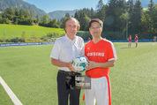 Samsung Charity Soccer Cup - Alpbach, Tirol - Di 01.09.2015 - Friedrich STICKLER, Stuart KANG97