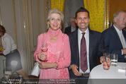 Ausstellungseröffnung - Albertina - Do 03.09.2015 - Silvia EISENBURGER-KUNZ, Christian BAHA55