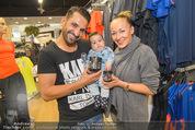 Merza Sportnahrung - SCS - Sa 05.09.2015 - Familie Fadi und Ines MERZA mit Sohn Michel1