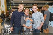 Merza Sportnahrung - SCS - Sa 05.09.2015 - Alexander SCHIEL mit Freund Christoph, Ines MERZA m. Sohn Michel40