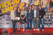 Fack ju Göthe 2 Kinopremiere - Cineplexx Donauplex - Di 08.09.2015 - Gruppenfoto Cast: Elyas M�BAREK, J HAASE, V BRUCH, J NUSSBAUM106