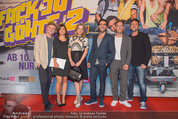 Fack ju Göthe 2 Kinopremiere - Cineplexx Donauplex - Di 08.09.2015 - Gruppenfoto Cast: Elyas M�BAREK, J HAASE, V BRUCH, J NUSSBAUM107