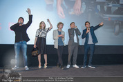 Fack ju Göthe 2 Kinopremiere - Cineplexx Donauplex - Di 08.09.2015 - Bora DAGTEKIN, Elyas M�BAREK, Jella HAASE, Volker BRUCH, NU�BA155