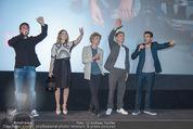 Fack ju Göthe 2 Kinopremiere - Cineplexx Donauplex - Di 08.09.2015 - Bora DAGTEKIN, Elyas M�BAREK, Jella HAASE, Volker BRUCH, NU�BA156
