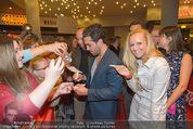 Fack ju Göthe 2 Kinopremiere - Cineplexx Donauplex - Di 08.09.2015 - Elyas M�BAREK, Sandra KINDERMANN85