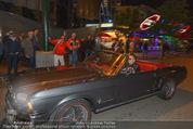 Andreas Gabalier Videodreh - Praterdome - Mi 09.09.2015 - Andreas GABALIER in altem Auto, Oldtimer, Cabrio18