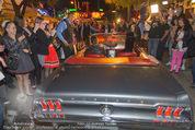Andreas Gabalier Videodreh - Praterdome - Mi 09.09.2015 - Andreas GABALIER in altem Auto, Oldtimer, Cabrio21