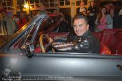 Andreas Gabalier Videodreh - Praterdome - Mi 09.09.2015 - Andreas GABALIER in altem Auto, Oldtimer, Cabrio33